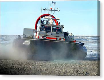 Hover Craft Canvas Print by Anthony Jones