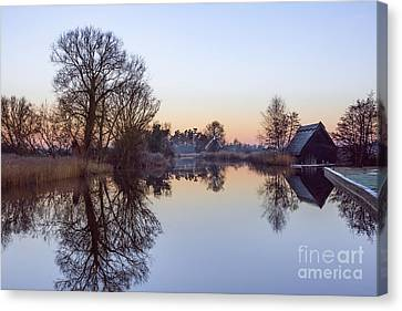 How Hill Mill Canvas Print by Svetlana Sewell