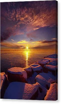Canvas Print featuring the photograph How Loud The Silence Is by Phil Koch