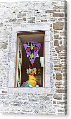 Canvas Print featuring the photograph How Much Is That Dragon In The Window by John Schneider