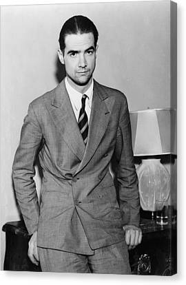 Howard Hughes 1905-1976 In 1936 Canvas Print by Everett
