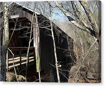 Howards Covered Bridge Canvas Print