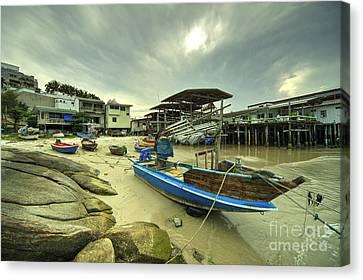 Hua Hin Boat  Canvas Print