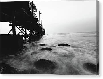 Huanchaco Pier Canvas Print
