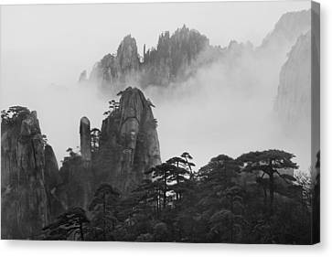 Huangshan Canvas Print