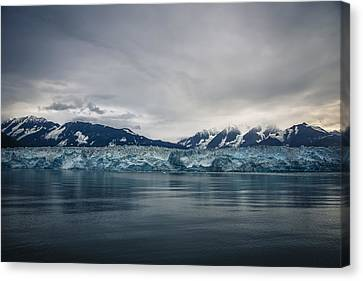 Hubbard Glacier Canvas Print by Robin Williams