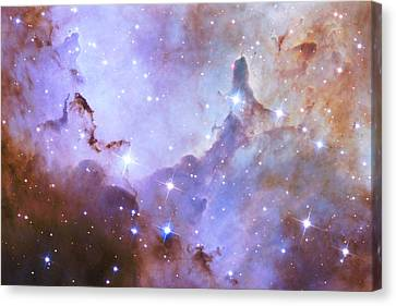 Canvas Print featuring the photograph Hubble Space Telescope Celebrates 25 Years Of Unveiling The Universe by Nasa