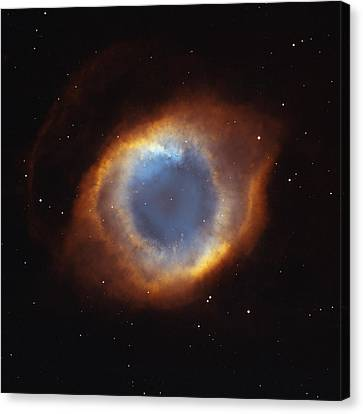 Hubble Telescope Image Of The Helix Canvas Print by Nasa