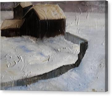 Huddell-up Canvas Print