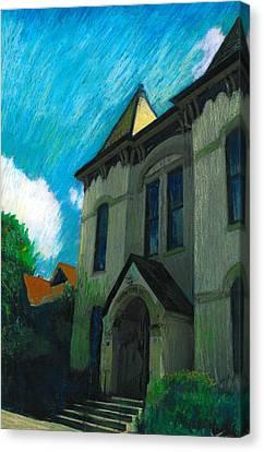 Hudson Town Hall Canvas Print