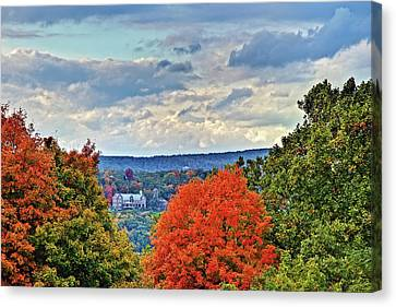 Hudson Valley Hyde Park Ny Canvas Print