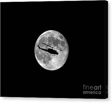 Huey Moon .png Canvas Print by Al Powell Photography USA