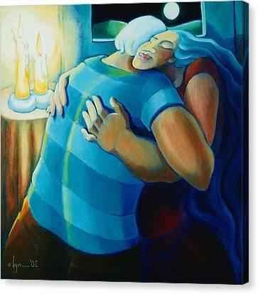 Hug And A Half Canvas Print
