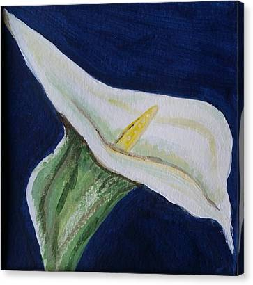 Canvas Print featuring the painting Hug Me by Carol Duarte