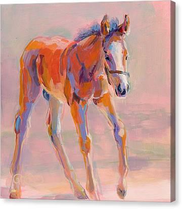Hugo Canvas Print by Kimberly Santini