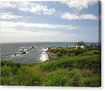Huialoha Church, Kaupo, Maui Canvas Print by Feva Fotos