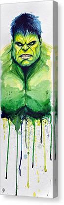 Hulk Canvas Print by David Kraig
