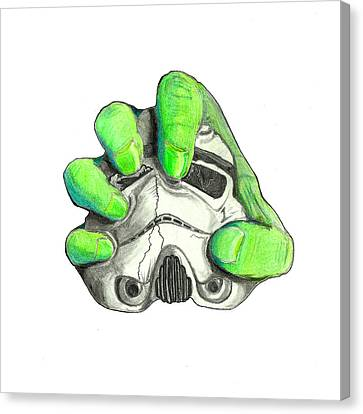 Hulk Trooper  Canvas Print by John Bainter