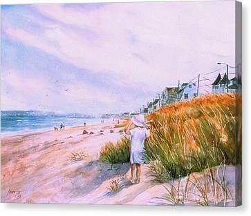 Hull's Splendor Canvas Print by Laura Lee Zanghetti