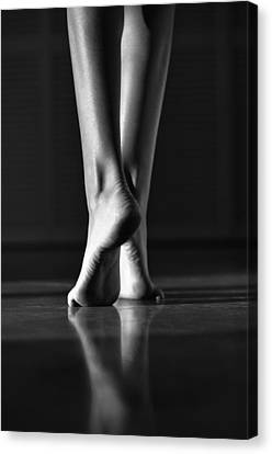 Canvas Print featuring the photograph Human by Laura Fasulo