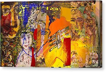 Human Saga II Canvas Print