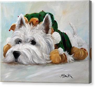 Humbug Canvas Print by Mary Sparrow