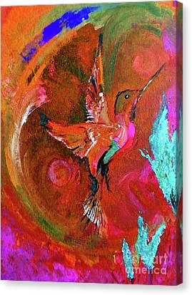 Hummingbird Canvas Print by Lisa Kaiser