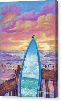 Hummingboard Canvas Print