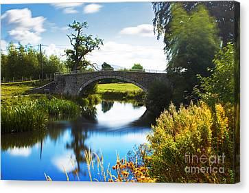 Chris Evans Canvas Print - Humpback Bridge  by Chris Evans