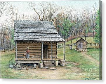 Humpback Cabin Canvas Print by Michael  Martin