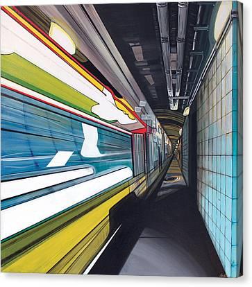 Humphrey Terminal Canvas Print by Jude Labuszewski