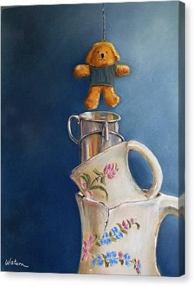 Hung Up Canvas Print by Ceci Watson