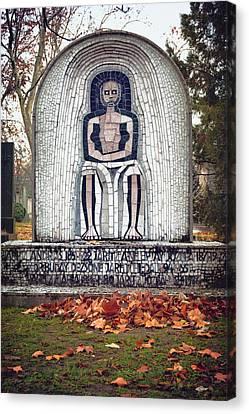 Hungarian Headstone Canvas Print
