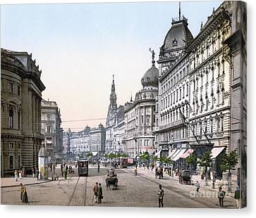 Hungary: Budapest, C1895 Canvas Print by Granger