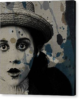 Hungry Eyes Canvas Print