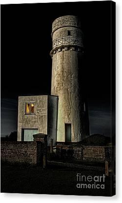 Norfolk Canvas Print - Hunstanton Lighthouse At Night by John Edwards