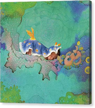 Hunter As A Nudibranch Canvas Print