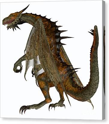 Hunter Dragon Canvas Print