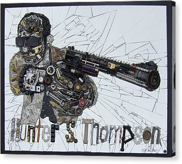 Hunter S. Thompson Canvas Print