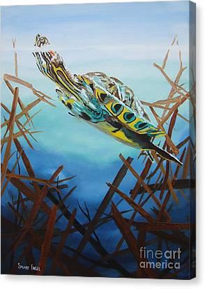 Hunter Canvas Print by Stuart Engel