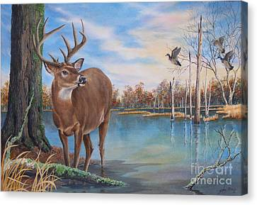 Hunters Dream Sold Canvas Print
