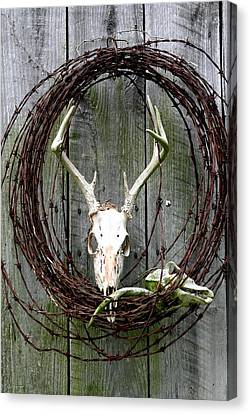 Hunters Wreath Variation Canvas Print by Diane Merkle