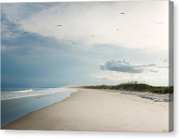 Huntington Beach State Park II Canvas Print by Ivo Kerssemakers