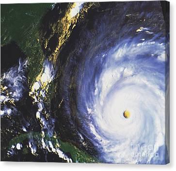 Hurricane Floyd Canvas Print by NASA / Science Source