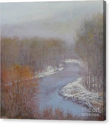 Hush On The Bigwood Canvas Print