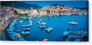 Hvar Panorama Canvas Print