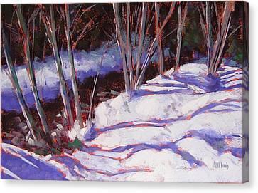 Hyak Stream Canvas Print by Mary McInnis