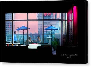Hyatt 54 New York City Canvas Print