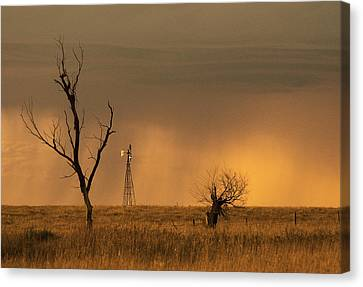 Canvas Print featuring the photograph Hyde County by Don Durfee