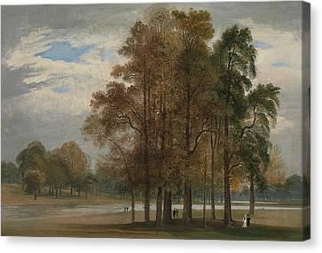 Hyde Park Canvas Print - Hyde Park by John Martin